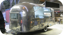 Side View of Airstream Trailer