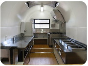 Farm Yard Cuisine Interior - Mobile Commercial Kitchen