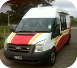 Front View of Mr Whippy Van